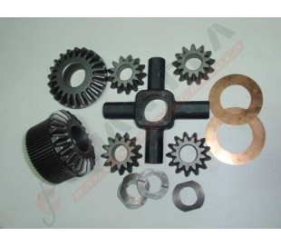 Kit equipo diferencial CASE, FIAT, FORD, New holland